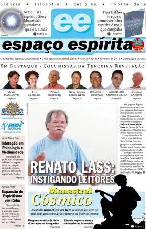 Jornal Espaço Espírita 39 - Fevereiro 2014
