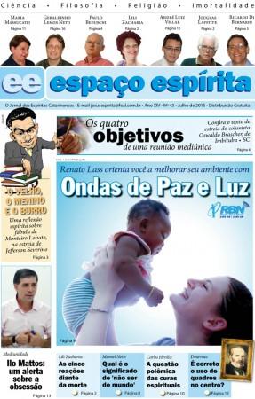 Jornal Espaço Espírita 43 - Julho 2015