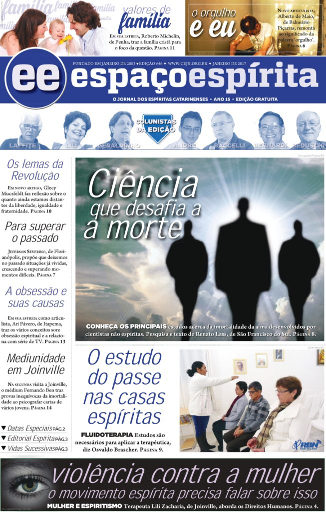 Jornal Espaço Espírita 46 - Janeiro 2017