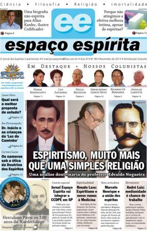 Jornal Espaço Espírita 38 - Novembro 2013