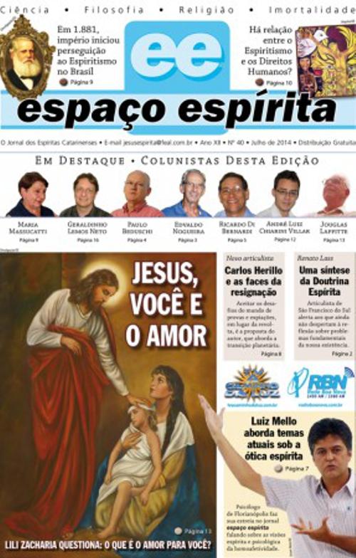 Jornal Espaço Espírita 40 - Julho 2014