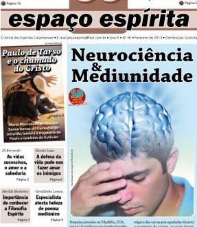 Jornal Espaço Espírita 36 - Janeiro 2013